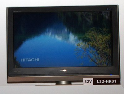 Hitachi  L32-HR01 TVs with iVDR