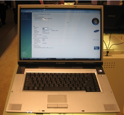 Samsung M60 Laptop with nVidia 8000M