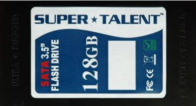 Super Talent 128GB SSD Drive