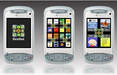 ZenZui Mobile User Interface