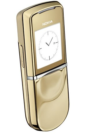 Nokia 8800 Sirocco Gold Edition