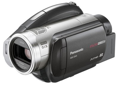 Panasonic HDC-SD3, HDC-DX3