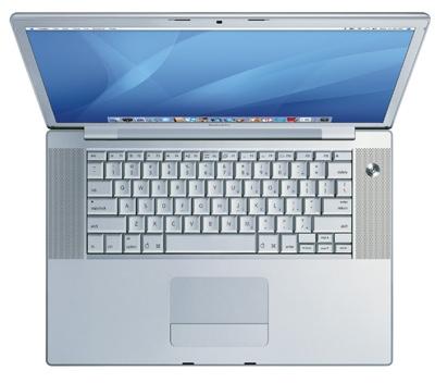 Apple MacBook Pro with Santa Rosa