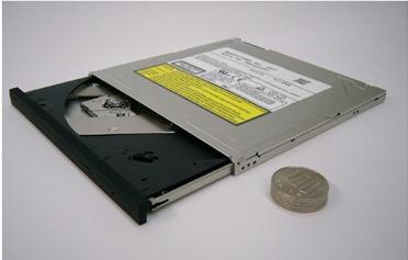 Panasonic 7mm DVD Burner