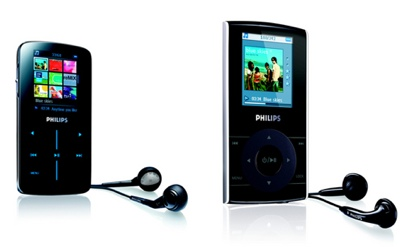 Philips SA9300 and SA5100