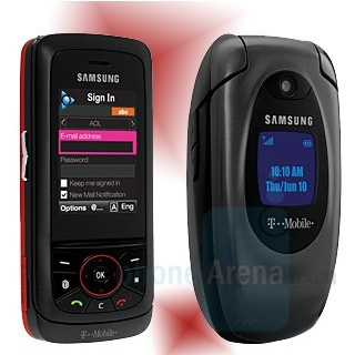 Samsung SGH-T729 and SGH-T419 for T-Mobile