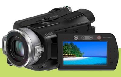Sony HDR-SR8 AVCHD Camcorder