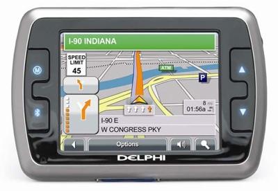 Delphi NAV300 GPS Navigation System