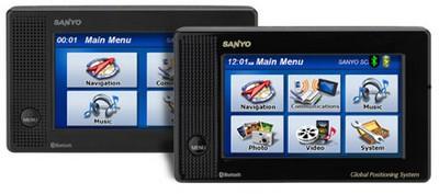 Sanyo EasyStreet NVM-4070 and NVM-4050