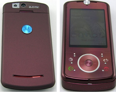 Motorola Z9 Slider Phone