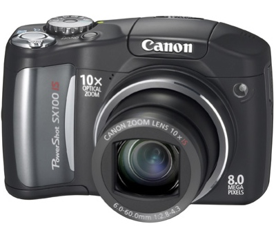 Canon PowerShot SX100 IS with 10X Zoom