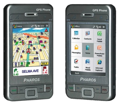 Pharos GPS Phone 600