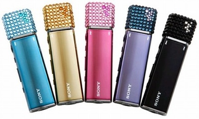 Sony E010 Walkman with Swarovski Crystal