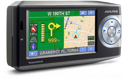 Alpine PMD-B200 Blackbird II GPS