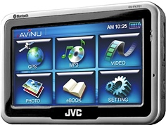 JVC KV-PX701 and KV-PX501 GPS Devices