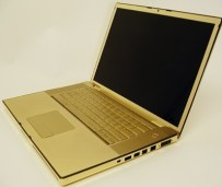 MacBook Pro in 24-carat Gold