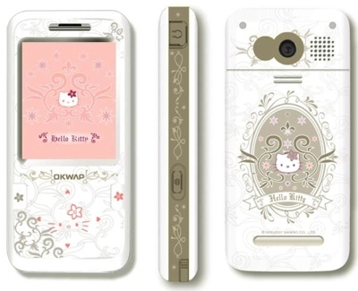 OKWAP C150T Hello Kitty Phone