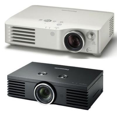 Panasonic  PT-AE2000E and PT-AX200