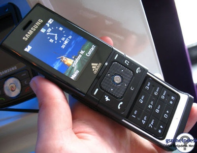 Samsung Adidas F110 Sport Mobile Phone