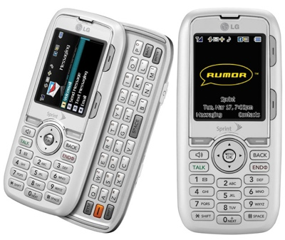 Sprint LG Rumor Smartphone