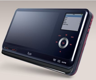 iLuv Portable Video MP3 & DVD Player