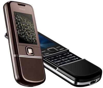 Nokia 8800 Arte and Sapphire Arte