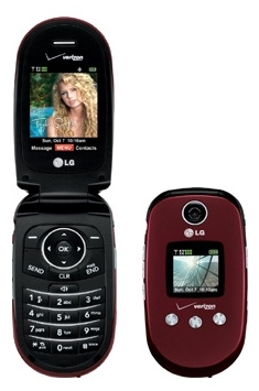 LG VX8350 Red Phone for Verizon