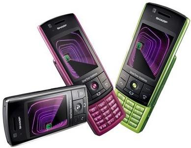 Sharp SX663 / Softbank 816SH Slider Phone