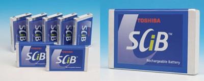 Toshiba SCiB batteries