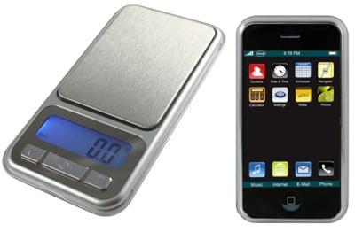American Weigh CP3-500 - iPhone-like Scale