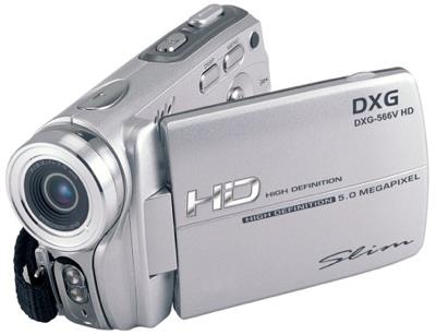 DXG DXG-566V HD Camcorder