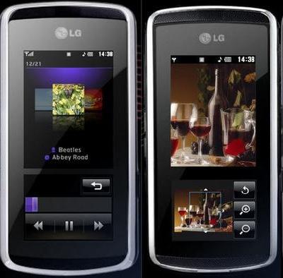 LG KF600 Mobile Phone