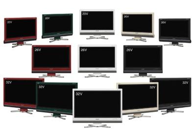 Sharp D Series AQUOS LCD TVs