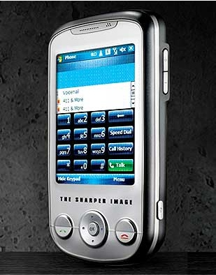 Sharper Image 101TSI PDA Phone with GPS