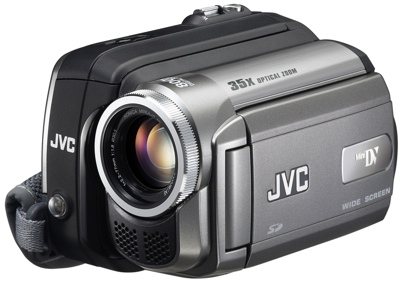 JVC GR-D870 and GR-D850 MiniDV Camcorders