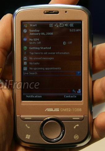 Asus Galaxy Mini GPS PDA Phone