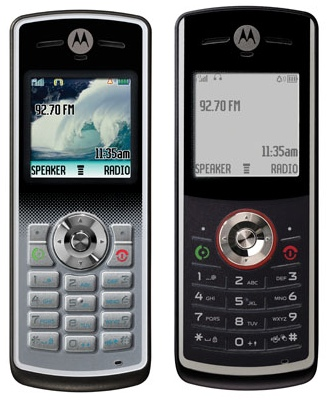 Motorola W181 and W161 Low-end Phones