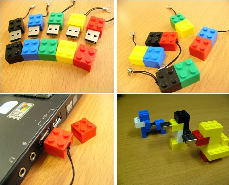 SolidAlliance Lego-like USB Drive