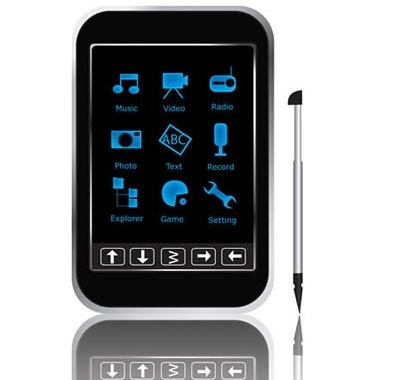 Sumvision Ice - Touchscreen PMP