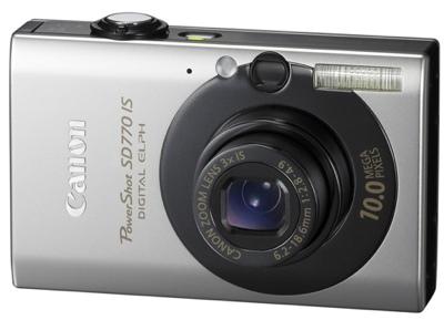 Canon PowerShot SD770 IS Digital ELPH camera