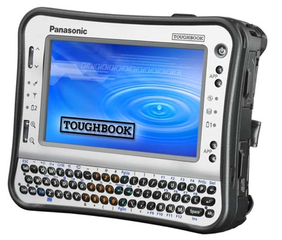 Panasonic Toughbook CF-U1 based on Atom