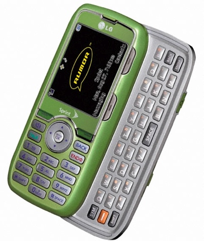 Sprint LG Rumor in Green