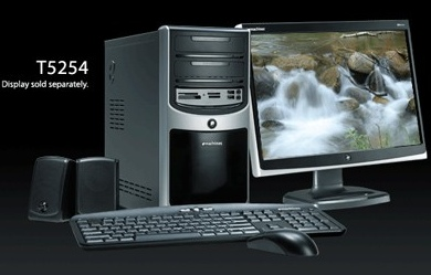 eMachines T3646 and T5254 Desktop PCs