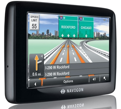 Navigon 2100 Max and 2120 Max GPS Devices