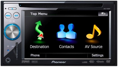 Pioneer NavGate AVIC-F900BT and AVIC-F700BT GPS Devices