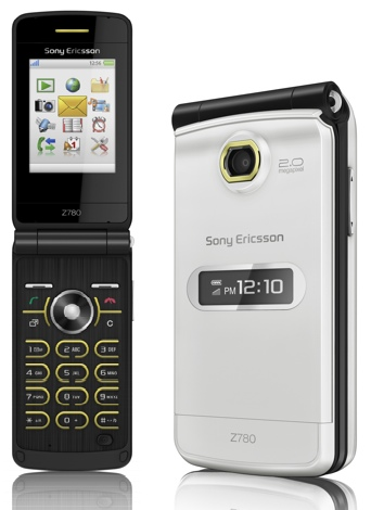 Sony Ericsson Z780 Clamshell