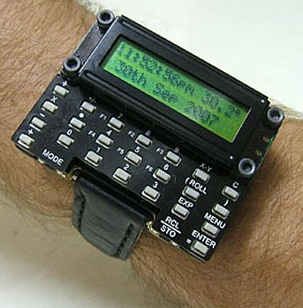 uWatch - DIY Scientific Calculator Watch