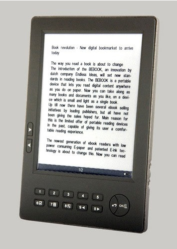 BeBook e-book reader