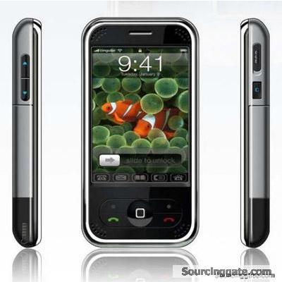 CECT P168C Dual SIM iPhone Clone