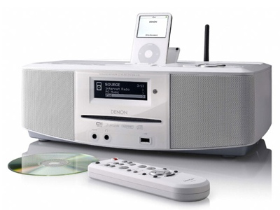 Denon S-52 Networked Audio System / iPod Dock